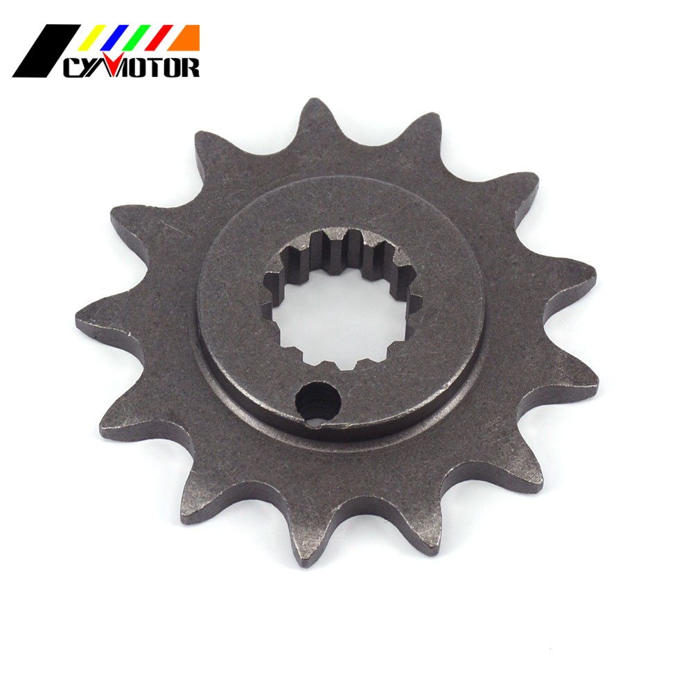 Motorcycle Front 13T Engine Chain Sprocket For 77mm ZS177MM ZONGSHEN Engine  NC250 KAYO T6 BSE J5 RX3 ZS250GY-3 4 Valves