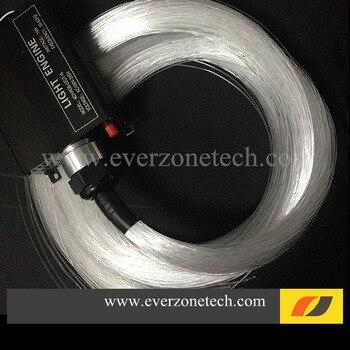 FY-1-004B LED Decoration DIY Fiber Optic Light Star Ceiling Kit 200pcs 1.0mm 2m With Remote Control