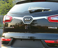 Car Rear Door Trunk Lid  ABS Chrome decoration Cover Trim 1pcs  for  Kia 2011 2012 2013 2014 2015 Sportage R accessories