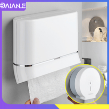 Toilet Paper Holder Creative Hand Roll Towel Dispenser Wall Mount Bathroom Waterproof Tissue Box Cover