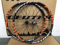 2018 New Mountain Bike Carbon Wheelset 26 / 27.5 ER Cycling MTB Bicycle Clincher Wheel 6 Color Compatible QR Axle Hubs Bike Part