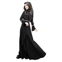 Abaya Jilbab Kaftan  Fashion Maxi Dress Islamic Maxi Evening Party Dress