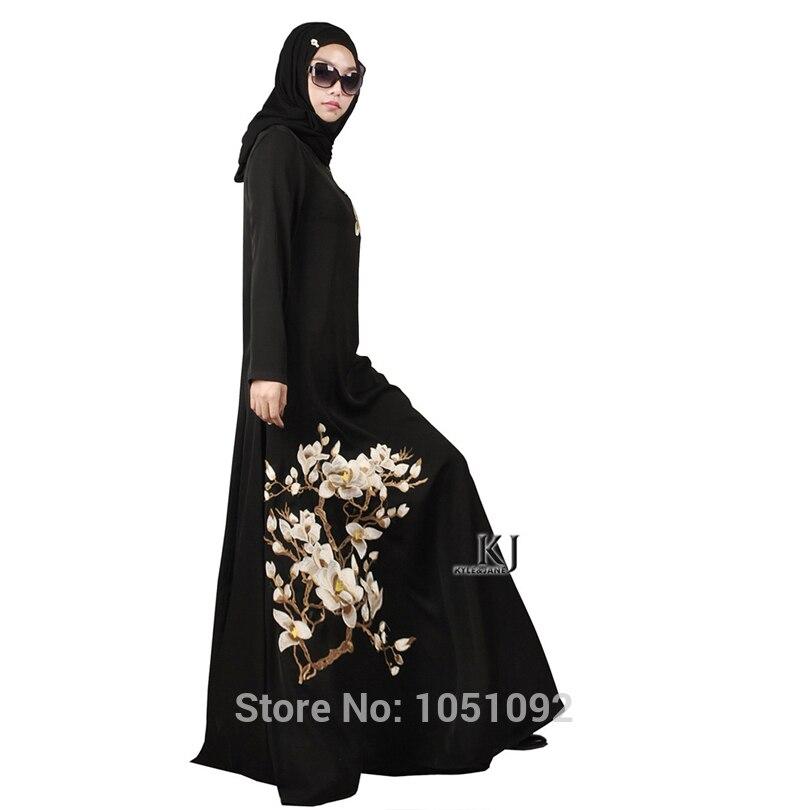 Islamic Clothing Traditional & Cultural Wear Bonnet Hijab Robe Femme Musulman Kaftan Plus Size 95% Cotton+5% Lycra Fabric Arabic Women Clothes Dresses Muslim Women 20150208