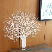 1 шт. Красивые Искусственные веерообразные пластиковые высушенная ветка растение домашнее свадебное украшение подарок без вазы F330