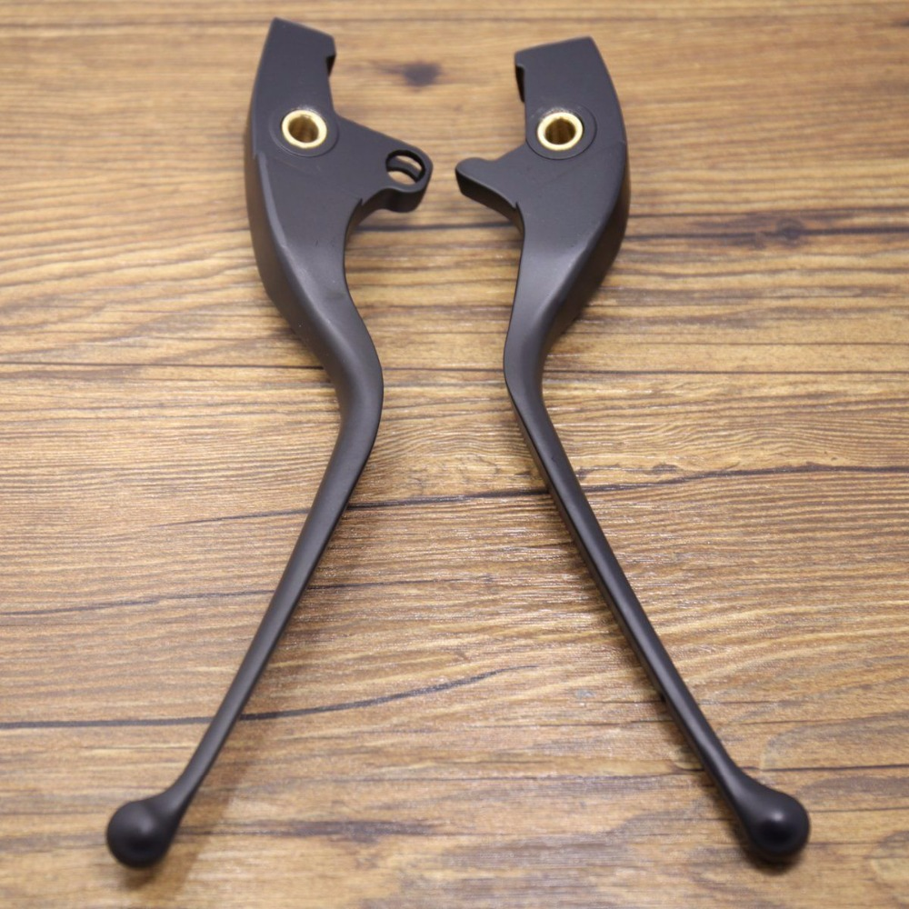 1Pair Matte Black Cluth Brake Lever Set For Victory Cross Country Vegas 2016-2017 motorcycle silver for victory cross roads custom cross countr kingpin vegas brake clutch lever set