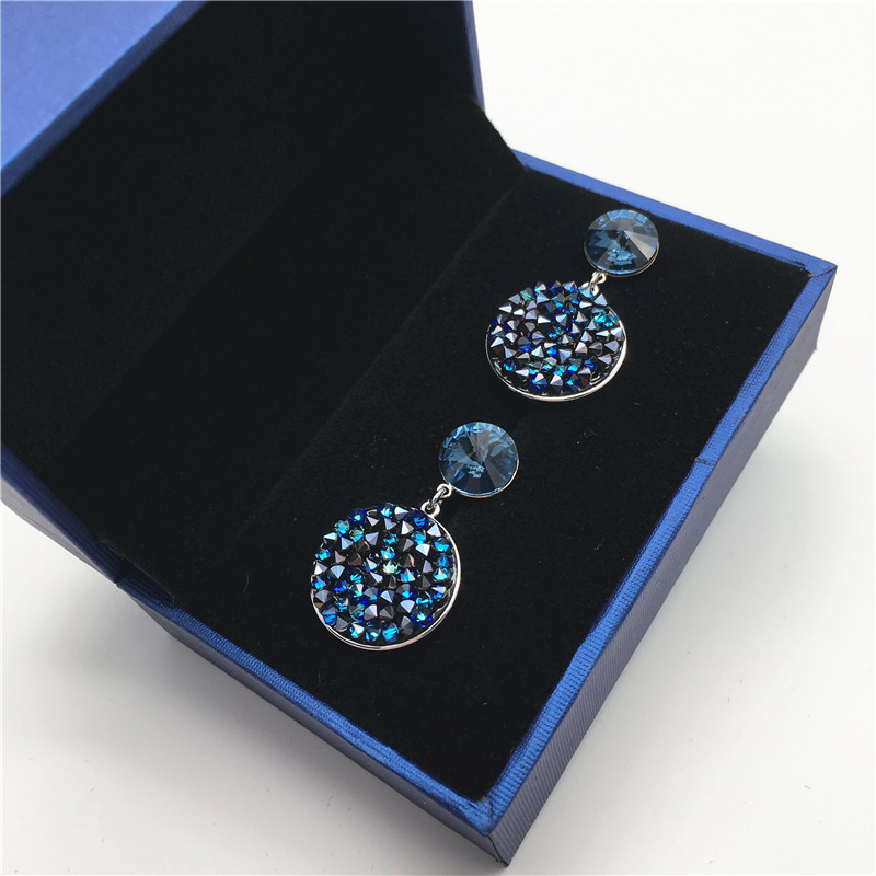 crystal druzy earring for women 201805