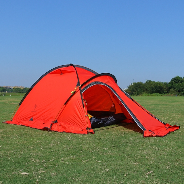 C&ing Tent 2Person One Bedroom One Living Room 20D Silicone Coated Double Layers C& Waterproof Outdoor & Camping Tent 2Person One Bedroom One Living Room 20D Silicone ...