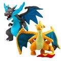 Оптовая Pokemon Charizard Плюшевые Куклы 23 см Mega Evolution X Y Мягкую Игрушку kawaii Мягкие Плюшевые Куклы Подарок на день рождения для дети