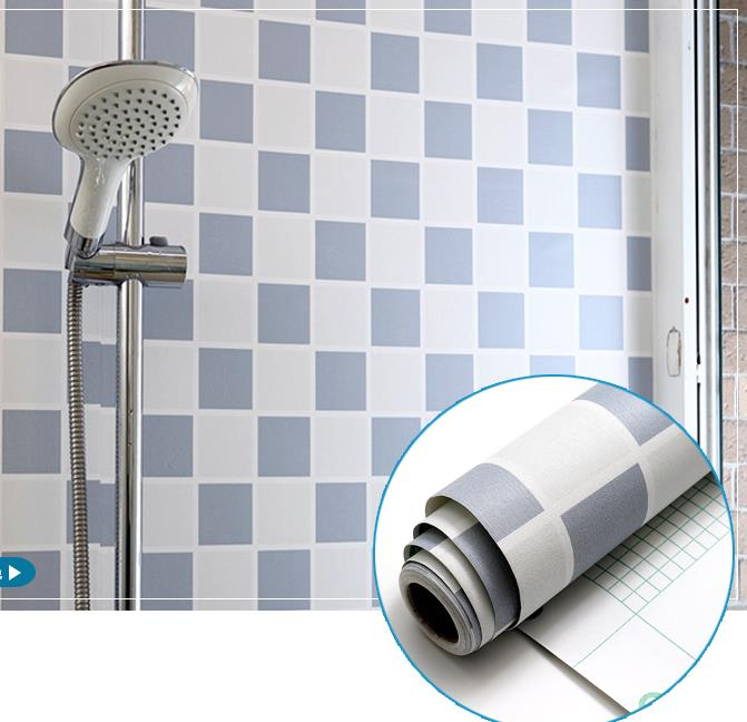 Waterproof wall stickers bathroom toilet decoration ...