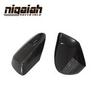 E60 Carbon Fiber Front Side Mirror Cover Cap Trim for BMW E60 5 Series 520i 523i 530i 535i 520d 525d 530d 535d 2004 2008