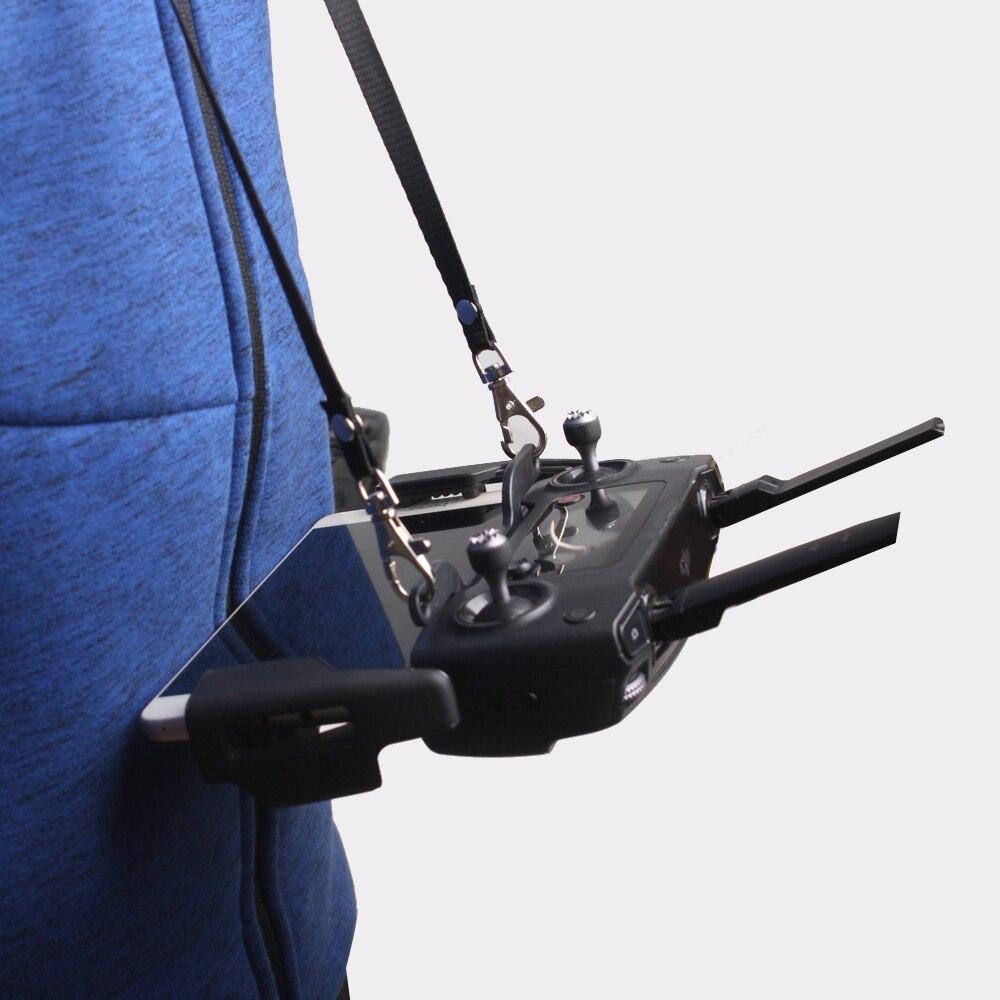 Tüketici Elektroniği'ten Drone Aksesuarları Kitleri'de Çift kanca braketi toka askısı Lanyard emniyet Sling halat montaj tutucu DJI MAVIC 2 PRO Zoom kıvılcım hava mavic Mini aksesuar title=
