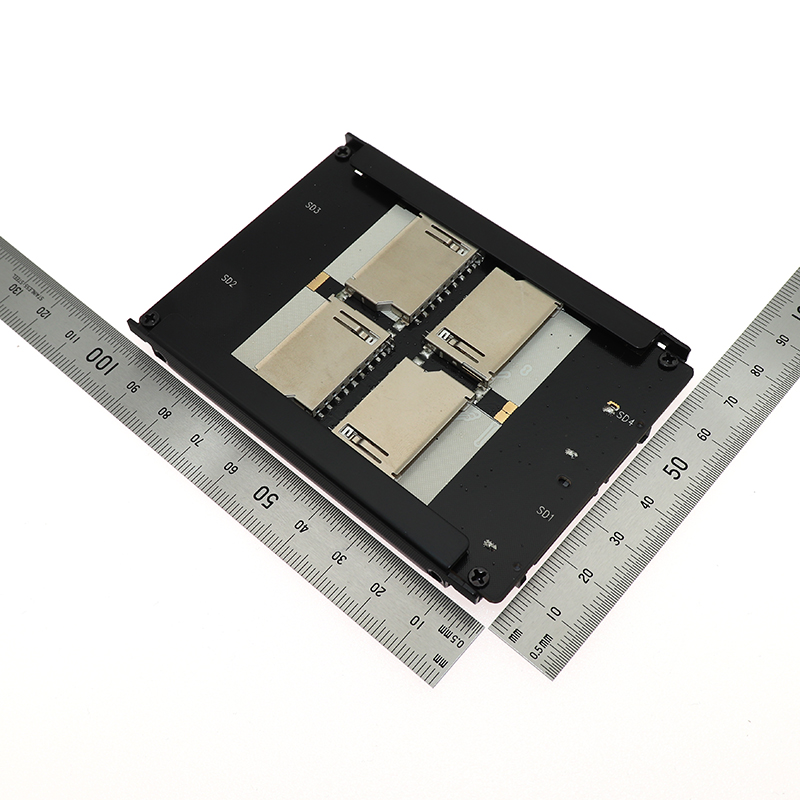 SD SDHC MMC to SATA Adapter Converter Card