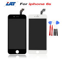 White and Black LCD For iPhone 6S LCD Assembly & Touch Screen Replacement AAA Quality No Dead Pixel +Repair Tool Set