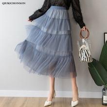 Skirts Length Autumn Ladies