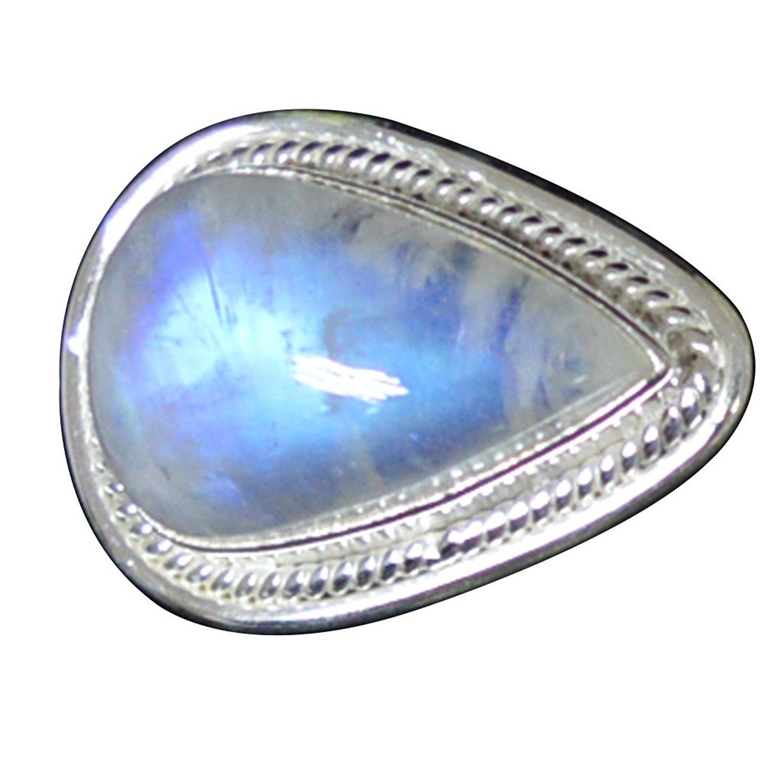 цена Lovegem Nature Rainbow Moonstone Ring 925 Sterling Silver,Size: 6.75 , AR2883
