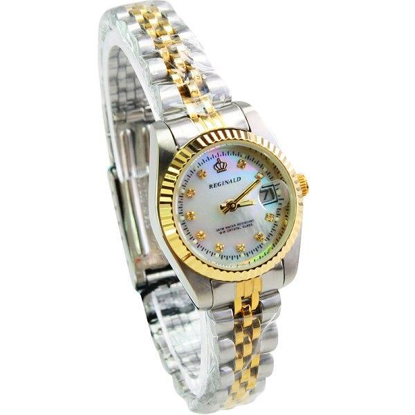 Relógio das Mulheres de Aço Inoxidável Completo Ouro Mulher relógios