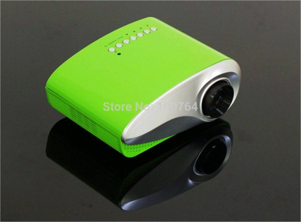 200 Ansi lúmenes mircro mini pico proyector led home theater proyector beamer projektor portátil para el envío libre