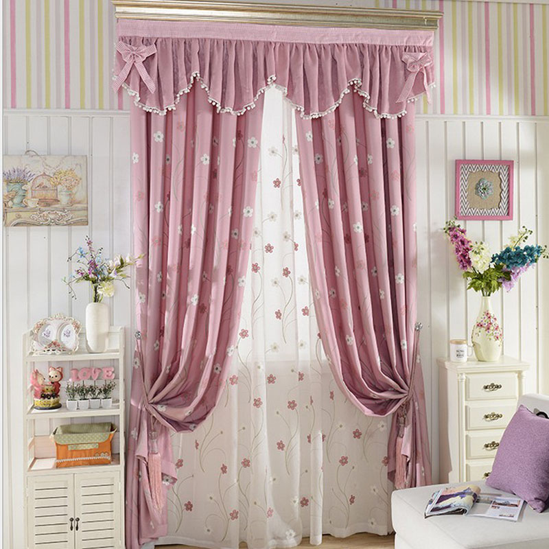 flower children living room curtains girls bedroom curtain valance
