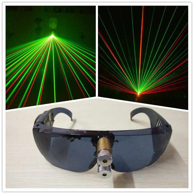 Wecool 2015 nya heta försäljningsfest färgglada laserglasögon - Semester och fester