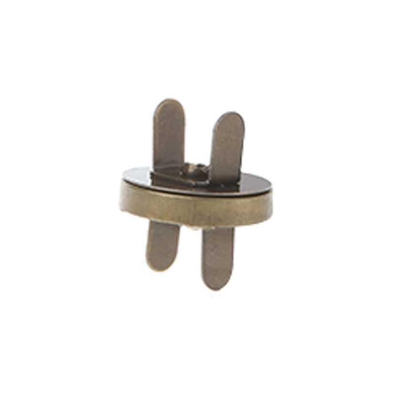5 pcs Fecho Magnético Bolsa Snaps Closures 18 milímetros Botão de Costura Rodada Saco de Imprensa Do Parafuso Prisioneiro
