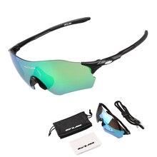 GUB 5100 Polarized Cycling Glasses Clear Riding Sports Sunglasses