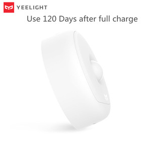 Image 5 - (USB ReCharge ) Yeelight LED Night Light Infrared Magnetic with hooks remote Body Motion Sensor For Smart Home