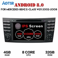 Android 7.1 8.0 Car GPS navi multimedia For Mercedes Benz GE Class W211 W463 W209 W219 no DVD player tape recorder audio wifi