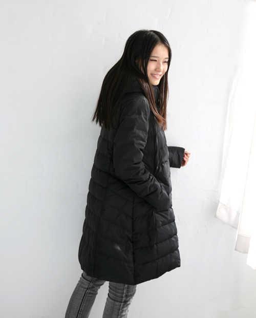 93e0d123e20 Size S-10XL Women Winter Down Jacket Hooded Warm Duck Down Jacket Coat A-