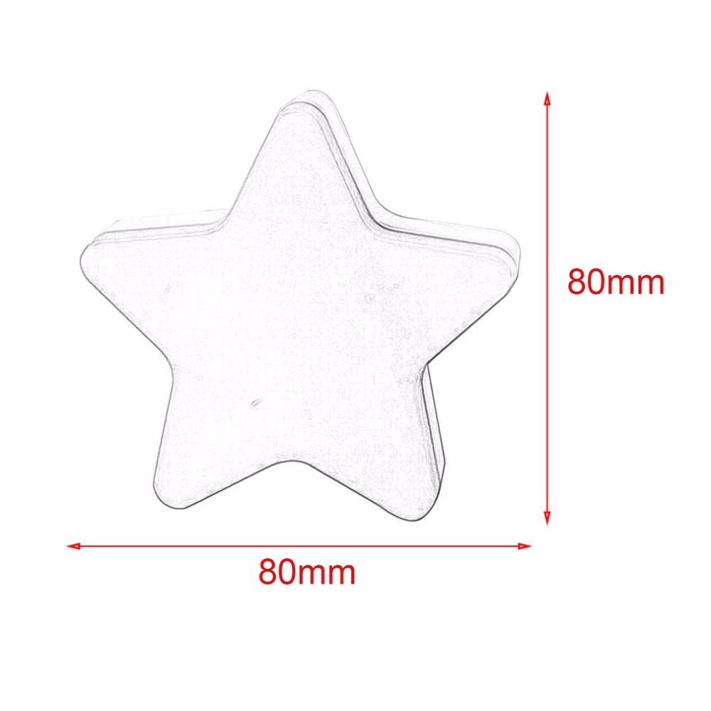 Self Defense Supplies Auto-control Switch Anti-fall Lighting Light Star Shape Led Wall Light Energy Saving Home Decoration Sensor Night Light Us Plug