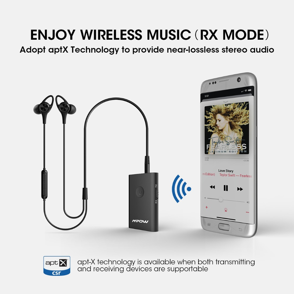 Mpow Bluetooth Receiver Transmitter 2 in 1  (1)