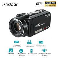 Andoer 1080 P HD wifi глазок для двери с монитором 24MP 4 K + 10X оптический зум пульт дистанционного управления + 32 Гб TF карта профессионального фото камер