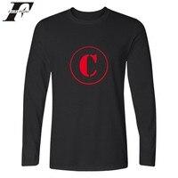 Program New Design Long Sleeve T-shirts XXS-4XL Long Sleeve T Shirt Men Cotton Spring Autumn Shirt Tees Tops Casual Style