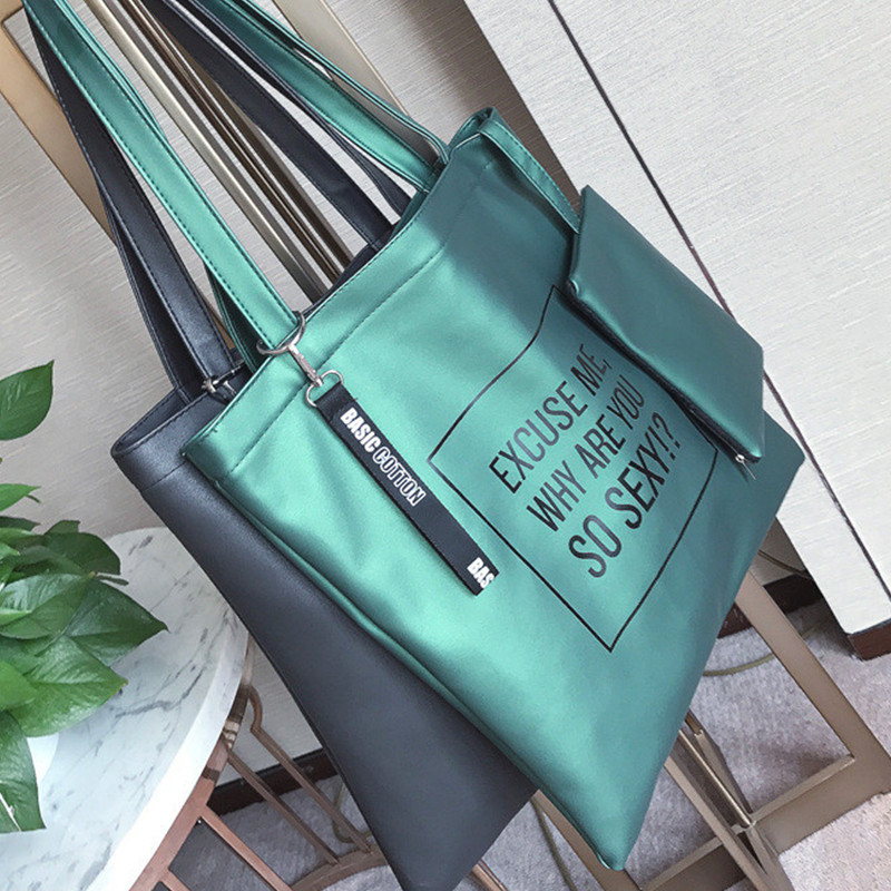 bolso hombre new fashion handbags two-piece package mother bag Louis noe pu bags women simple lady bag handtas torebka damska