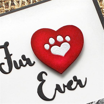 InLoveArts Dog Metal Cutting Dies Animal for Scrapbooking Card Making Letter Dies Cuts Craft 2018 New Shaker Maker Glitter Globe standard schnauzer