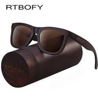 ef31b458a581 RTBOFY Wood Sunglasses for Men   Women Duwood Frame Eyeglasse Polarized  Lenses Glasses Vintage Design Shades