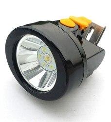Wysokiej jakości reflektor górniczy 3W CREE XP1Miner  reflektor litowo jonowy z ładowarką KL2.5LM (B) mining light mining headlampheadlights headlight -
