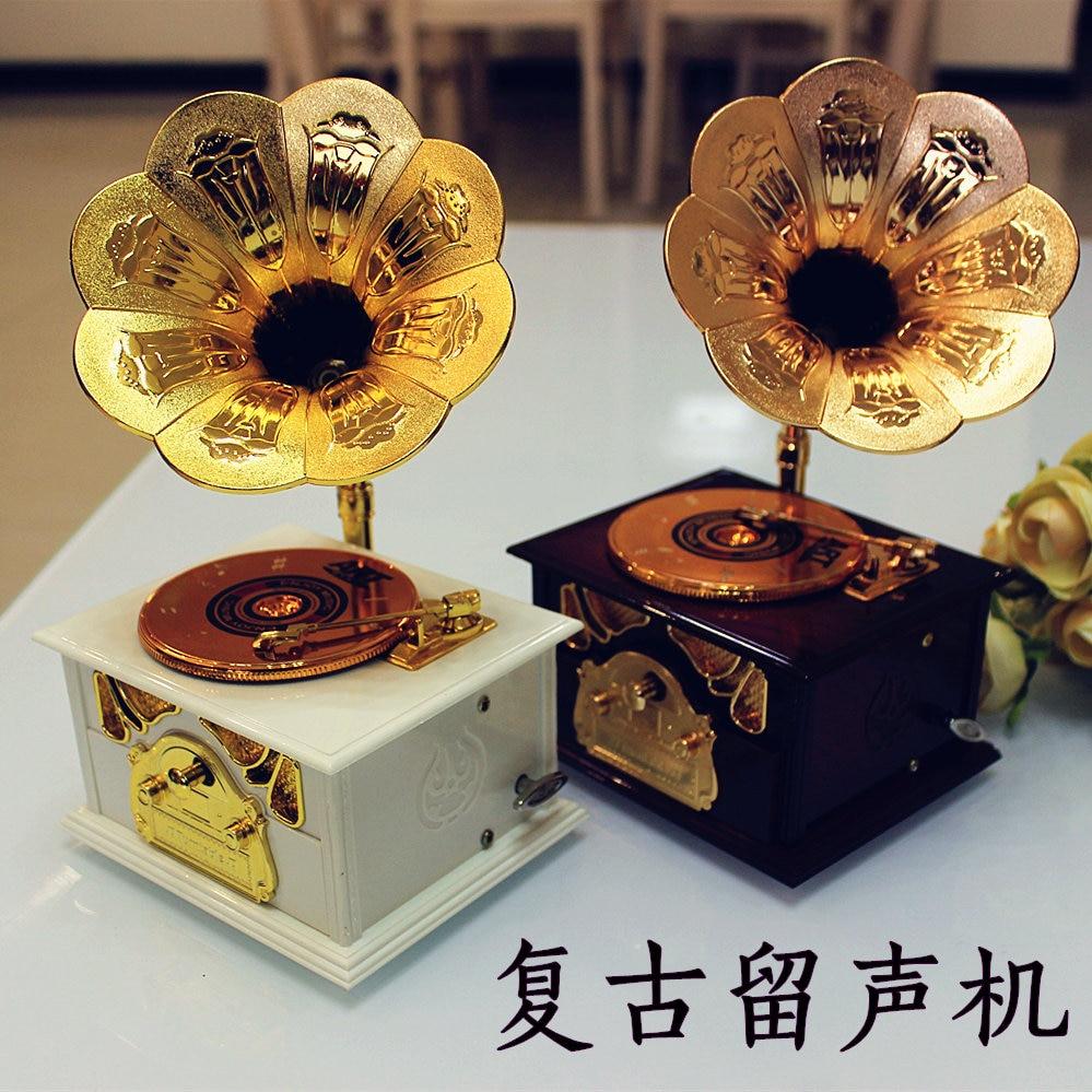 Christmas Gift Birthday Gift To Send Girls Retro Gramophone Students Bestie Send Students To