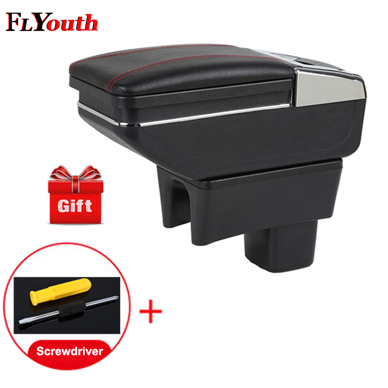 Car Armrest Box For Suzuki Swift 2005 2018 Central Store Content Box Cup Holder Ashtray Products