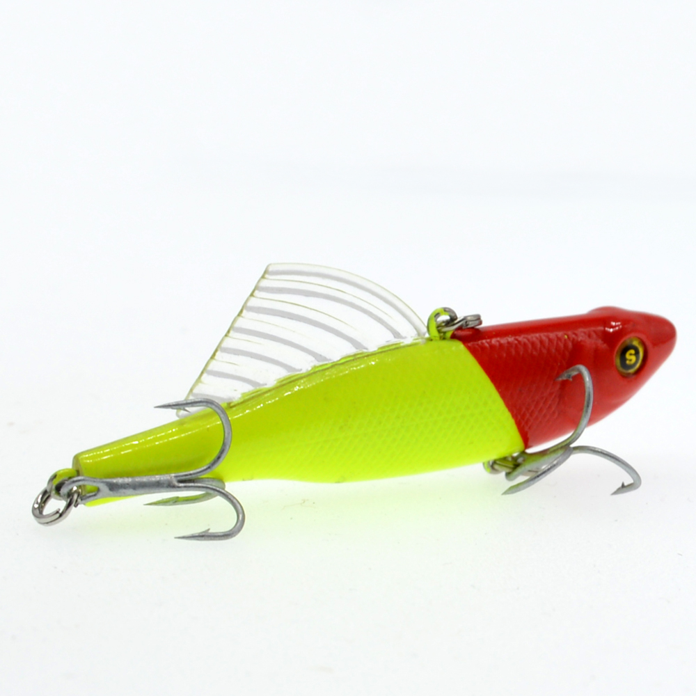 Image 2 - WLDSLURE 14.5g/65mm Sinking Vibration Fishing Lure Hard Plastic Artificial VIB Winter Ice Jigging Pike Bait Tackle Isca Peche-in Fishing Lures from Sports & Entertainment