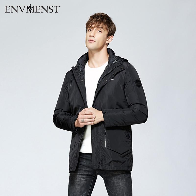 2017 Fashion Thick Jacket+Parka Outcoat Mens Winter Jackets Warm Parka Man Hooded Long Coat 2017 New Parkas 2 Parts