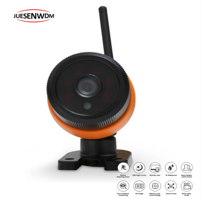 JUESENWDM Wifi Camera Security Video Surveillance Wireless 1080P IP Camera Outdoor with IP66 Waterproof mini bullet cvbs ccd camera 700tvl with headset mount for mobile surveillance security video 5v