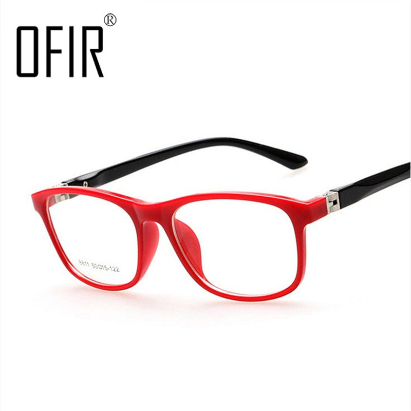 OFIR Boys Girls Plane Mirror Reading Glasses Frames Kanak-kanak Optical Spectacle Frame lunettes de vue enfant 8811