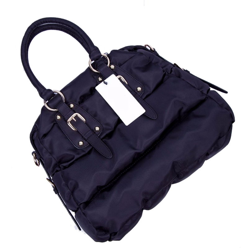 Winter Fashion Women Waterproof Nylon Warm Handbag Shell Casual Tote Fashion Fold Over Bag Soft Shoulder bag High Quality 2016 autumn and winter new casual waterproof nylon shell bag soft bag portable women shouid bags dd5023