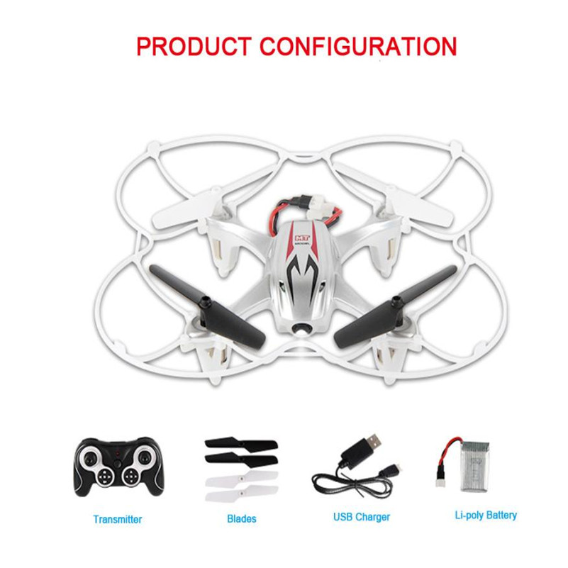 Mooistar2 #4001 Mini RC Quadcopter 2.4GHz 4CH 6-Axis Gyro 3D UFO Drone With 2.0MP HD Camera