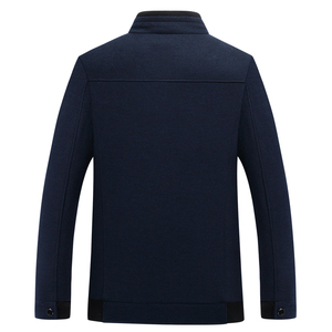 Image 4 - Mu Yuan Yang 2020 Autumn and Winter For Male Wool & Blends 50% Off Men s Wool Blend Coats Casual Mens Woolen Jackets Overcoat