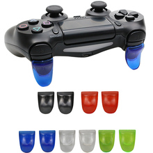 Game Accessory 1 Pair / Set L2 R2 Trigger Extended Buttons Kit For Sony PS4 Controller Gamepad Joypad Joystick  Accessories