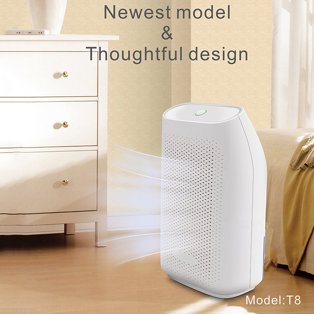 700ML Air Dehumidifier Electric Portable Mini Dehumidifier Invitop Home Use Air Dryer Moisture Absorbing For Wardrobe Basement
