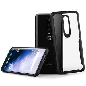 Dla Oneplus 7 Pro etui na telefon Slim, twarde, przezroczysta tylna dla Oneplus 7 Pro pokrywa zderzaka TPU, cienkie, odporne na wstrząsy jasne skrzynki pokrywa