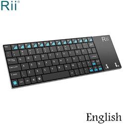 Rii i12 2.4GHz Mini bezprzewodowa klawiatura z wielofunkcyjnym touchpadem na PC Laptop Mini PC
