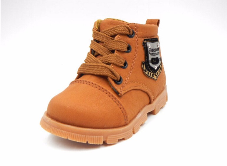 16 autumn children sport shoes boys chaussure baby girls short boots for kids sneakers child Ankle casual martin shoes 7